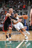 Miami Heat v Utah Jazz: Deron Williams and Carlos Arroyo