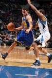 Golden State Warriors v Minnesota Timberwolves: Stephen Curry and Sebastian Telfair