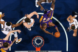 Los Angeles Lakers v Memphis Grizzlies: Kobe Bryant  Rudy Gay  Marc Gasol and Xavier Henry