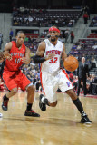 Toronto Raptors v Detroit Pistons: Richard Hamilton and DeMar DeRozan
