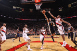 Utah Jazz v Portland Trail Blazers: Marcus Camby and Paul Millsap