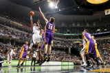 Los Angeles Lakers v Memphis Grizzlies: Rudy Gay and Pau Gasol