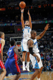 Detroit Pistons v New Orleans Hornets: Marco Belinelli and Ben Gordon