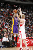 Los Angeles Lakers v Houston Rockets: Matt Barnes and Chase Budinger