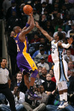 Los Angeles Lakers v Memphis Grizzlies: Kobe Bryant and OJ Mayo