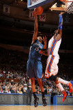 Minnesota Timberwolves v New York Knicks: Ronny Turiaf and Wayne Ellington