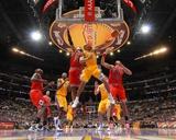 Chicago Bulls v Los Angeles Lakers: Derek Fisher