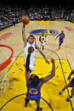 New York Knicks v Golden State Warriors: Monta Ellis and Ronny Turiaf