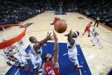 New Jersey Nets v Atlanta Hawks: Josh Smith and Al Horford