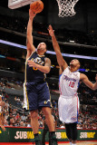 Utah Jazz v Los Angeles Clippers: Deron Williams and Eric Gordon