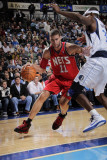 New Jersey Nets v Dallas Mavericks: Brook Lopez and Brendan Haywood