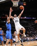 Dallas Mavericks v San Antonio Spurs: Manu Ginobili and Tyson Chandler