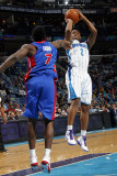 Detroit Pistons v New Orleans Hornets: Jarrett Jack and Ben Gordon
