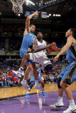 Washington Wizards v Sacramento Kings: Tyreke Evans and JaVale McGee