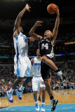 San Antonio Spurs v New Orleans Hornets: Richard Jefferson and Emeka Okafor