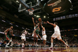 Milwaukee Bucks v Cleveland Cavaliers: Brandon Jennings  JJ Hickson and Anthony Parker
