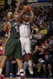 Milwaukee Bucks v Dallas Mavericks: Caron Butler and Drew Gooden