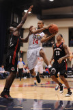 Utah Flash v Bakersfield Jam: Stephen Dennis and Andre Ingram