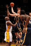Utah Jazz v Los Angeles Clippers: Tyler Hansbrough and Lamar Odom