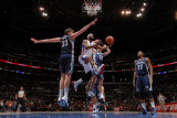 Memphis Grizzlies v Los Angeles Clippers: Baron Davis  Marc Gasol  Greivis Vasquez and Rudy Gay