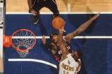 Atlanta Hawks v Indiana Pacers: Roy Hibbert and Josh Smith