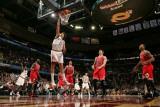 Chicago Bulls v Cleveland Cavaliers: Anderson Varejao  Luol Deng and Joakim Noah