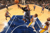 Charlotte Bobcats v Indiana Pacers: Gerald Wallace and Mike Dunleavy