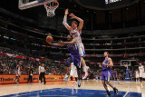 Sacramento Kings v Los Angeles Clippers: Luther Head and Blake Griffin