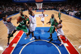 Boston Celtics v Philadelphia 76ers: Paul Pierce and Elton Brand
