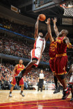 Miami Heat v Cleveland Cavaliers: LeBron James  Antawn Jamison and Jamario Moon