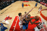 Orlando Magic v Chicago Bulls: Malik Allen and Kyle Korver