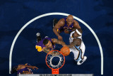 Los Angeles Lakers v Memphis Grizzlies: Zach Randolph  Lamar Odom and Matt Barnes