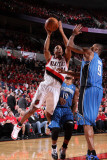 Orlando Magic v Portland Trail Blazers: Rashard Lewis and Andre Miller