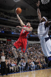 New Jersey Nets v Dallas Mavericks: Jordan Farmar and Brendan Haywood