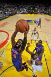 New York Knicks v Golden State Warriors: Ronny Turiaf and Jeff Adrian