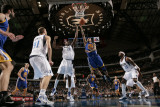 Golden State Warriors v Dallas Mavericks: Monta Ellis and Ian Mahinmi