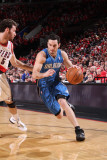 Orlando Magic v Portland Trail Blazers: Rudy Fernandez and JJ Redick
