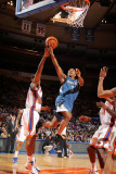 Minnesota Timberwolves v New York Knicks: Sebastian Telfair and Shawne Williams