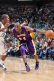 Los Angeles Lakers v Utah Jazz: Kobe Bryant and Raja Bell