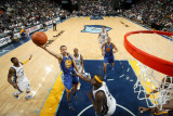 Golden State Warriors v Memphis Grizzlies: Stephen Curry and Zach Randolph