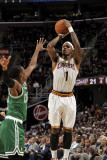 Boston Celtics v Cleveland Cavaliers: Daniel Gibson and Rajon Rondo