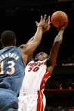 Washington Wizards v Miami Heat: Joel Anthony