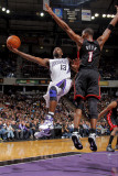 Miami Heat v Sacramento Kings: Tyreke Evans and Chris Bosh