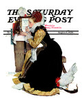 """Summer stock"" Saturday Evening Post Cover  August 5 1939"