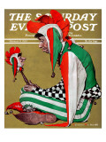"""Jester"" Saturday Evening Post Cover  February 11 1939"