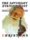 &quot;Christmas  1927&quot; (King Kong Santa) Saturday Evening Post Cover  December 3 1927