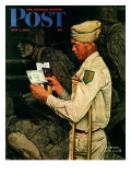 """War Bond"" Saturday Evening Post Cover  July 1 1944"