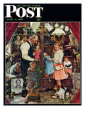 &quot;April Fool  1948&quot; Saturday Evening Post Cover  April 3 1948
