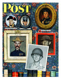 &quot;Willie Gillis Generations&quot; Saturday Evening Post Cover  September 16 1944