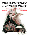 &quot;Good Deeds&quot; Saturday Evening Post Cover  December 6 1924